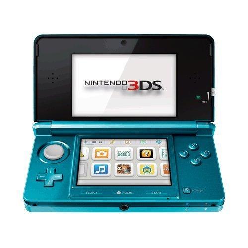 Nintendo 3DS - Konsole, Aqua blau (Game Kinder Für Maker-software)