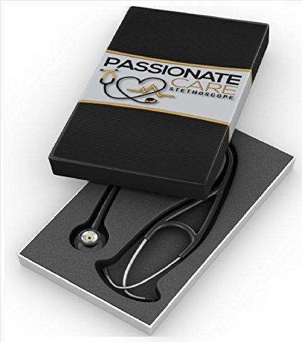 Passionate Care Premium Stethoskop: Tragen Sie den Respekt, der mit dem besten klassischen Kardiologie Stethoskop kommt. Sie werden alles hören, weiche Ohrstöpsel und dem klarsten Klang! Von Passionate (Krankenschwester Klassische Kostüme)
