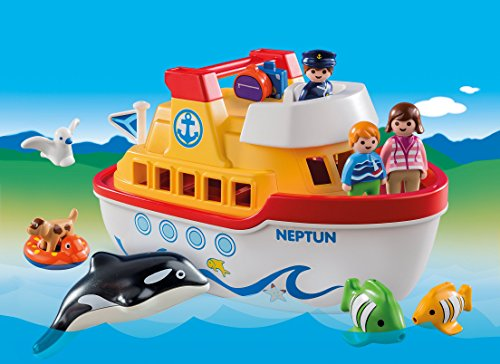 Playmobil 6957 1.2.3 Floating Take Along Ship