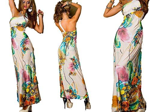 IL BAZAR - Robe - Colonne - Sans Manche - Femme Taille unique Beige