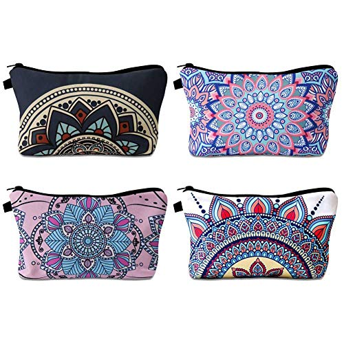 FANTESI Lot de 4 Sacs de Maquillage, Trousse de...