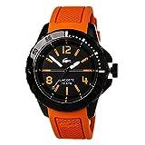 Lacoste Herren-Armbanduhr Analog Quarz Silikon 2010714