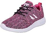 L.A. Gear Unisex Schuhe Sunrise Leoparden Sneaker Turnschuhe Pink Sneaker 38