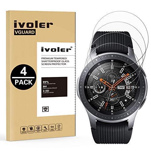iVoler [4 Unidades] Protector de Pantalla para Samsung Galaxy Watch 46mm /...