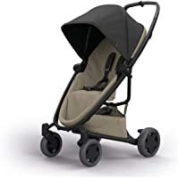 Quinny Zapp Flex Plus Urban Pushchair, Flexible and Compact, Two-Way Reclining Seat, 6 Months to 3.5 Years, Black on Sand