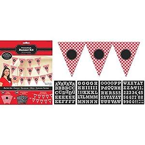 Kit de banderolas para fiesta de picnic Amscan (120158)