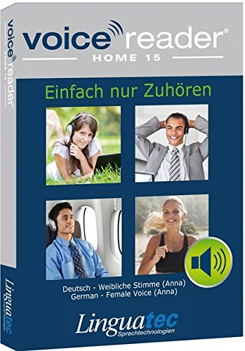 Voice Reader Home 15 Deutsch - weibliche Stimme (Anna) (Sprachausgabe-software Die)