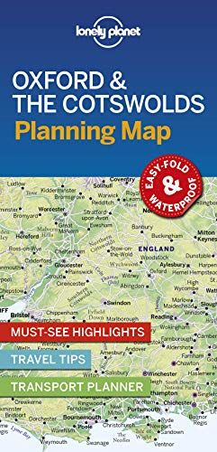 Oxford & the Cotswolds Planning Map (Planning Maps)