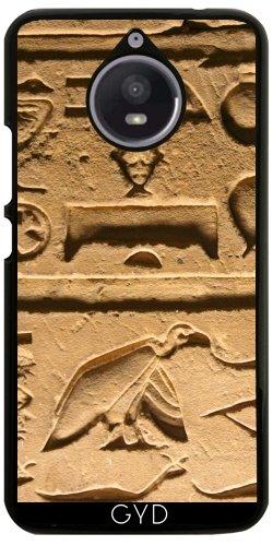 Hülle für Motorola Moto E4 Plus - Hieroglyphs_2014_1004 by JAMFoto