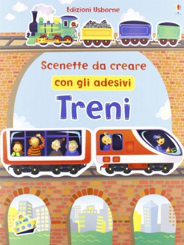 Treni. Scenette da creare con gli adesivi