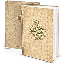 Grand Livre de Recettes XXL Vintage à compléter personnaliser ou à offrir à un amateur de cuisine Cadeau pour Elle Maman Mamie Soeur Format A4 164 pages ...