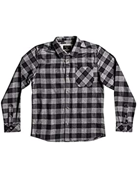Quiksilver Motherfly Flannel - Camisa De Manga Larga para Chicos EQBWT03184