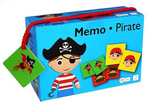 Barbo Toys Classic- Barbo Toys Memo Game Piratas 5931