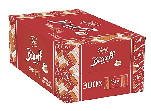 Lotus Kaffee-Keks Speculoos 300 Stck. einzeln Verpackt (Karamellkekse)