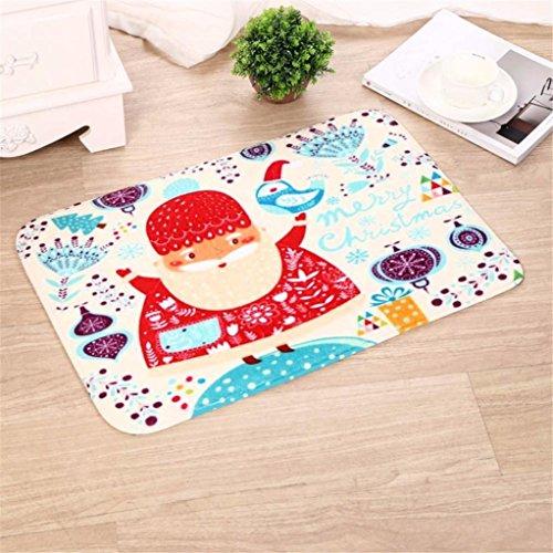 Sansee Dekor Lappen Teppich Für Weihnachten-16470 (Größe: 40cm X 60cm, Y0906 E)