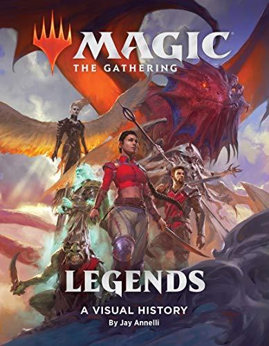 Magic: The Gathering: Legends: A Visual History (English Edition)