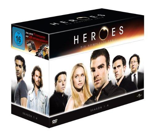 Heroes: Die komplette Serie - Season 1-4 [23 DVDs]