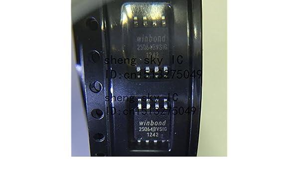 Shomy 20PCS 25Q64 W25Q64 W25Q64BVSIG SOP8 SMD WINBOND 64M