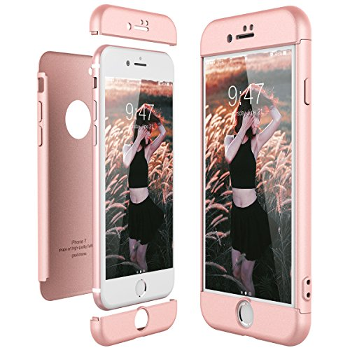 CE-Link Funda Apple iPhone 7 Rigida 360 Grados Integral