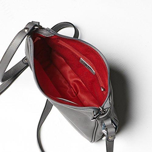 Cherry Paris- brussels- sacchetto bandoulière- Donna rosso