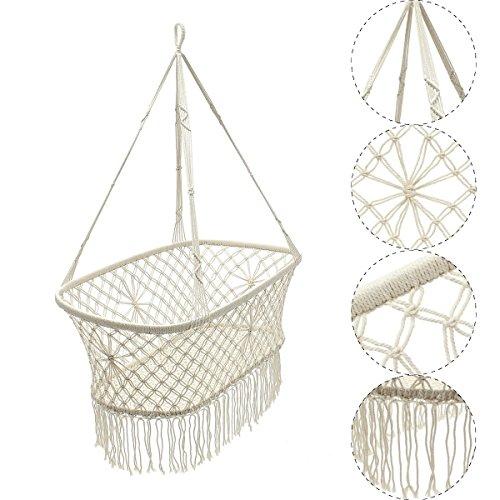 Qazwsx Cradle Hängematte Beruhigt Säuglingsschlaf Hängende Swing Baby Crib (Krippe Neben Dem Bett)