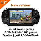 Best gaming consoles - CZT 4.3 Inch 8GB Handheld Game Consolebuild in Review