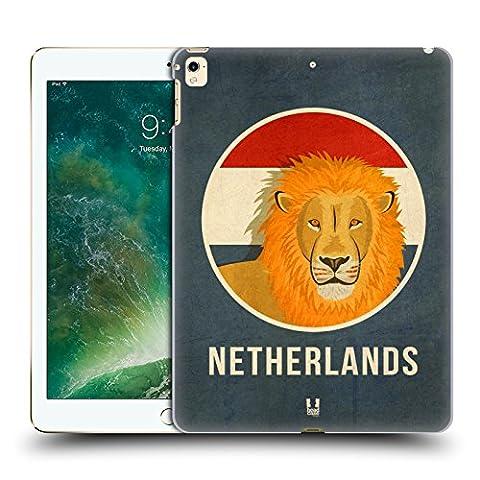 Head Case Designs Pays-Bas Animaux Patriotiques Étui Coque D'Arrière Rigide Pour Apple iPad Pro 12.9 (2016/17)
