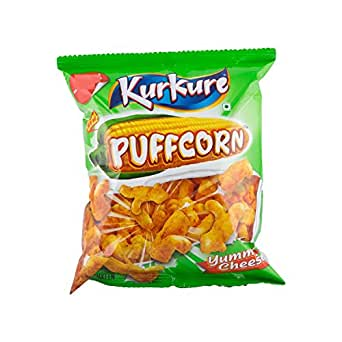 Kurkure Puffcorn - Yummy Cheese, 36g Pouch