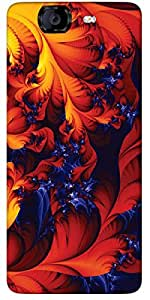 Timpax protective Armor Hard Bumper Back Case Cover. Multicolor printed on 3 Dimensional case with latest & finest graphic design art. Compatible with only Micromax A350 Canvas Knight. Design No :TDZ-21211
