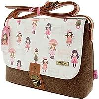 Gorjuss Traveller Satchel - (Flap Satchel Handbag)