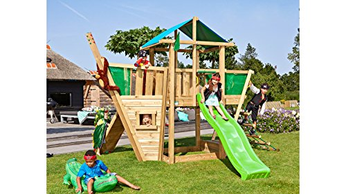 Hut Gym (JUNGLE GYM Spielturm Jungle Hut Boat, Gesamtmaße (B/T/H): 220/320/290 cm)