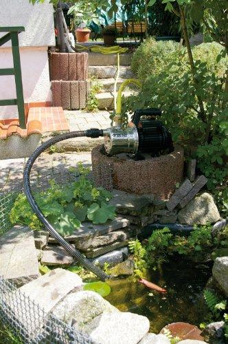 T.I.P. 30111 Gartenpumpe Edelstahl GP 3000 Inox, bis 2.950 l/h Fördermenge -