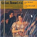 Potpourri of 19th century salon music Potpourri sur des motif de Huguenots (arr.Arnold) Gran duo concertante op 52 in LA flauto chitarrra Studio op 6 n.11 in mi Zanetta (1805) Choix d'airs (arr. Foreit)