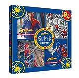 SPIDER-MAN - Super coffret - Histoire, coloriages, stickers, puzzle...