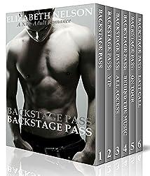 Backstage Pass:The Complete Bad Boy Rock Star Romance Series Box Set (English Edition)