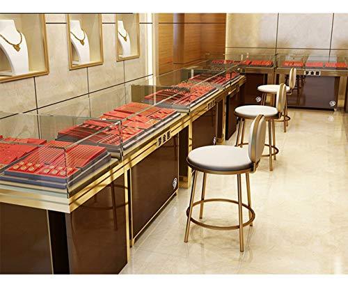 Prese di fabbrica su misura semplice moda base in acciaio inox bar