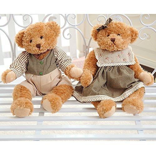 VERCART Teddybär Spielzeug Geburtstagsgeschenk Dekor für Hochzeitsgeschenk für die Braut Grün 65cm - Teddy Bär Valentines Riesen