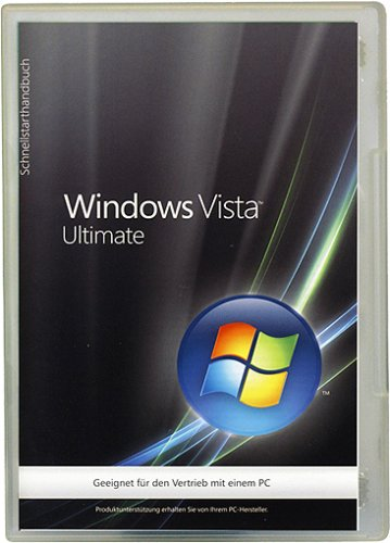 Windows Vista Ultimate 32 Bit OEM (Betriebssystem Windows Vista)