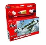 Airfix A55107 North American P-51D Mustang 1:72 Scale Model Small Starter Set