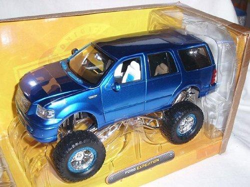 ford-expedition-suv-blau-hoher-gelegt-tuning-1-24-jada-modellauto-modell-auto-sonderangbeot-sonderan