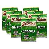7x DOMINO Kaffeepads Haselnuss (á 18 Pads)