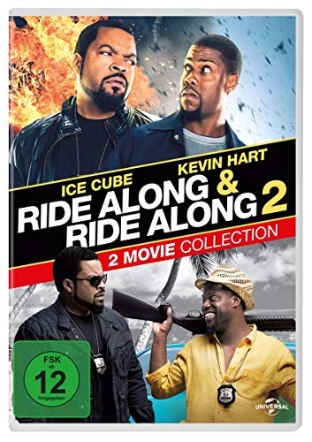 Ride Along & Ride Along 2 - Next Level Miami [2 DVDs]
