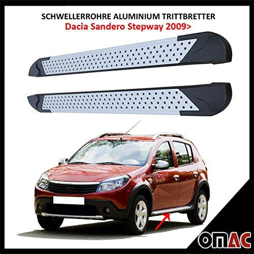 Alluminio Pedane per Dacia Sandero Stepway da 2009Almond 173