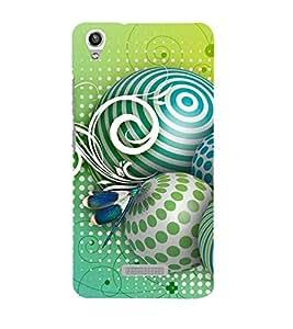 Fuson 3D Designer Mobile Back Case Cover For Lava Pixel V1