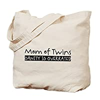 CafePress - Sanity is Overrated Tote Bag - Natural Canvas Tote Bag, Cloth Shopping Bag