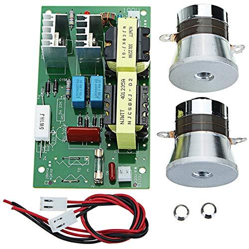 TOOGOO Ac 220V 60W-100W Limpiador Ultrasónico Tablero
