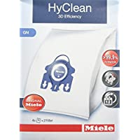 Miele HyClean GN 3D Efficiency Dustbags for Classic, Complete, S2000, S5000, and S8000 Series