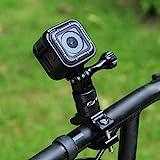 PULUZ 360 Grad Rotation Aluminium Fahrradlenker Adapterhalterung mit Schraube f�r GoPro HERO 6/ 5 / 4 / 4 / 3+ / 3/ 3/ 2/ 1 Session 5 / 4, Xiaoyi Sportkamera Bild
