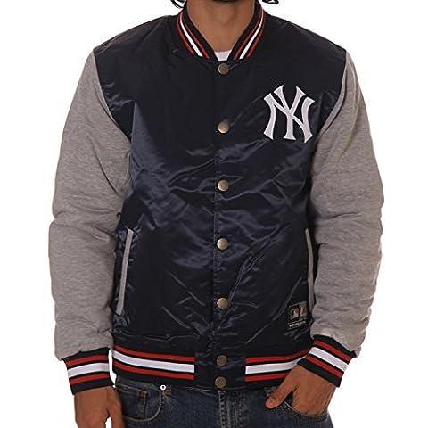 Veste Majestic: Creech Varsity New York Yankees BL/GR S