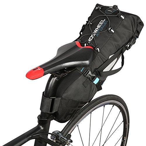 Lixada Wasserdicht Fahrrad Tasche Satteltasche, Fahrradtasche Radfahren Fahrrad MTB Mountain Road Bike Schwanz Sitz Tasche Verstellbare 3L-10L